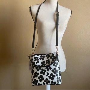 Kate Spade Small Bucket Darcy Graphic Bloom Bag